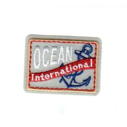 Ecusson Thermocollant OCEAN INTERNATIONAL