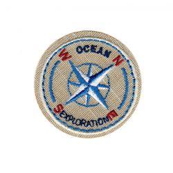 Ecusson Thermocollant OCEAN BOUSSOLE