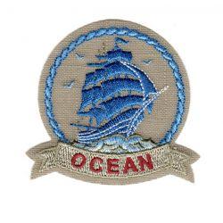 Ecusson Thermocollant OCEAN BATEAU