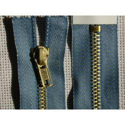FERMETURE eclair à glissière 8 CM Coloris JEANS pantalon jeans