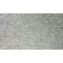 5 Feuilles de Feutrine 30 x 25 cm 1 mm d'épaisseur Coloris Gris Clair