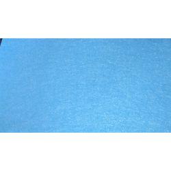 5 Feuilles de Feutrine 30 x 25 cm 1 mm d'épaisseur Coloris Bleu Clair