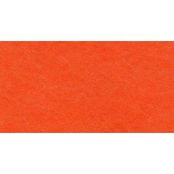 5 Feuilles de Feutrine 30 x 25 cm 1 mm d'épaisseur Coloris ORANGE