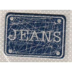 Ecusson Thermocollant JEANS