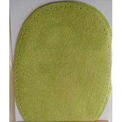 2 Renforts coude genou à coudre Coloris Vert Coton