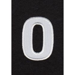 Ecusson thermocollant Alphabet Lettre N Coloris Blanc