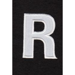 Ecusson thermocollant Alphabet Lettre r Coloris Blanc