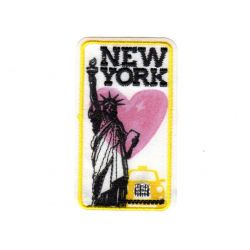 Ecusson thermocollant Ville de New York