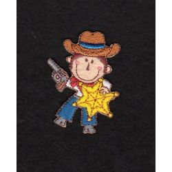Ecusson Thermocollant COWBOY SHERIFF