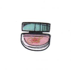 Ecusson Thermocollant Pot de Crème Parfum