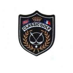 Ecusson Thermocollant Blason Golf