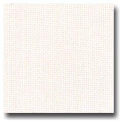 TOILE de LIN 12 FILS Coloris BLANC 6 Points au cm 49 x 140 cm