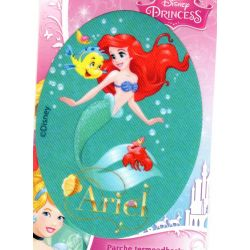 Ecusson Thermocollant Princesse Disney Ariel La Petite Sirène