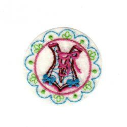 Ecusson Thermocollant Badge Corset