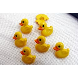 7 Boutons Canards Canetons