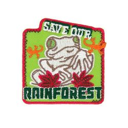 Ecusson Thermocollant GRENOUILLE RAINFOREST