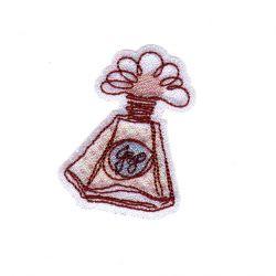 Ecusson Thermocollant Flacon de Parfum Brillant A