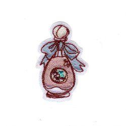Ecusson Thermocollant Flacon de Parfum Brillant B