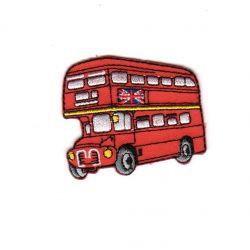 Ecusson Thermocollant Bus de Londres