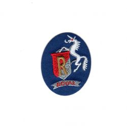 Ecusson Thermocollant Licorne Blason Royal