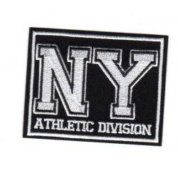 Ecusson Thermocollant New York Fond Noir