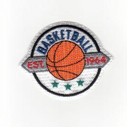 Ecusson Thermocollant Blason Sport Basket Ball