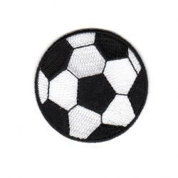 Ecusson Thermocollant Ballon de Foot Modèle Moyen
