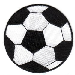Ecusson Thermocollant Ballon de Foot Grand Modèle