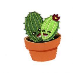 Ecusson Thermocollant Cactus Les Amis