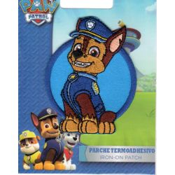 Ecusson Thermocollant PAT PATROUILLE 5,50 x 7 cm Chase Paw Patrol