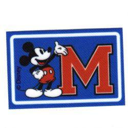Ecusson Thermocollant Mickey College University 5 x 8 cm