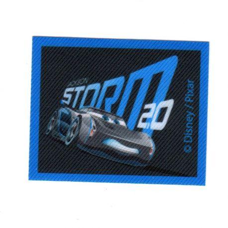 Ecusson Thermocollant CARS Jackson Storm 5,50 x 6,50 cm