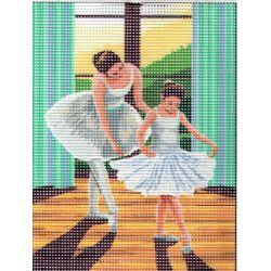 Kit Canevas Leçon de danse 15 x 20 cm
