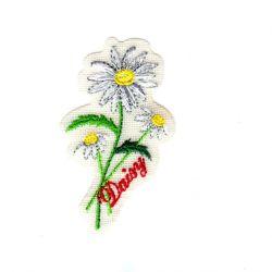 Ecusson Thermocollant La Marguerite 3,50 x 6 cm
