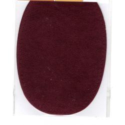 2 Renforts coude genou à coudre Coloris Bordeaux Imitation Daim
