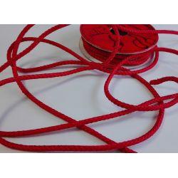 RUBAN Rouge 4 mm Cordon 2 Mètres
