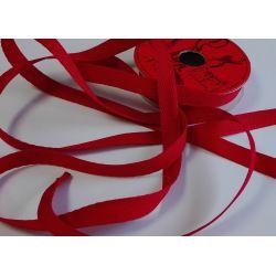 RUBAN Rouge 10 mm Plat 2 Mètres