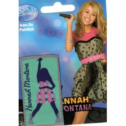 Ecusson Thermocollant HANNAH MONTANA Disney