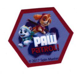 Ecusson Thermocollant PAT PATROUILLE Chase et Marcus 8 x 11 cm Paw Patrol
