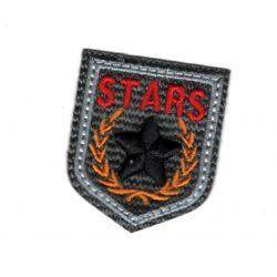 Ecusson Thermocollant Blason Etoile Star Coloris Gris 3,50 x 4 cm