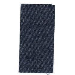 Toile thermocollante Coloris Jeans 11,50 x 21 cm