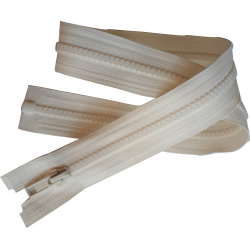 FERMETURE eclair à glissière COLORIS ECRU 50 cm / blouson anorak