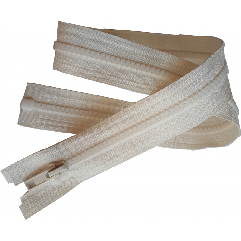 fermeture eclair glissi re coloris ecru 65 cm blouson. Black Bedroom Furniture Sets. Home Design Ideas
