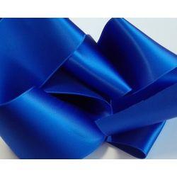Ruban Satin Luxe Largeur 70 mm double face Coloris Bleu Roi longueur 3 mètres
