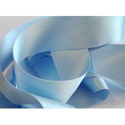 Ruban Satin Luxe Largeur 50 mm double face Coloris Bleu Clair longueur 3 mètres