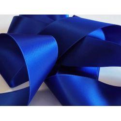Ruban Satin Luxe Largeur 50 mm double face Coloris Bleu Roi longueur 3 mètres