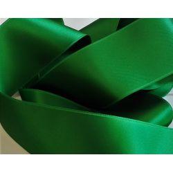 Ruban Satin Luxe Largeur 50 mm double face Coloris Vert Sapin longueur 3 mètres