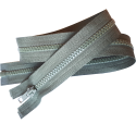 FERMETURE eclair à glissière COLORIS GRIS CLAIR 75 cm / blouson anorak