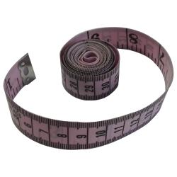 1 Mètre Ruban de Couturière 150 cm Coloris Mauve