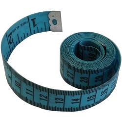 1 Mètre Ruban de Couturière 150 cm Coloris Bleu